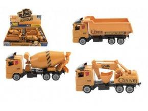 Auto stavební plast na setrvačník 20cm 3 druhy (1 ks)