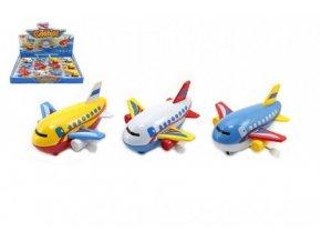 Letadlo na klíček plast 10cm asst mix barev (1 ks)