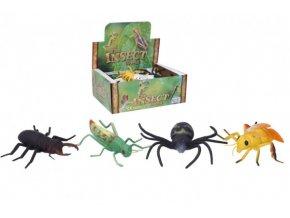 Hmyz plast 12-14cm 4 druhy (1 ks)