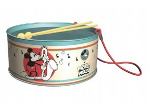 Bubínek Disney Mickey Mouse kov průměr 20cm výška 10cm