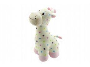 Žirafa plyš 40cm 2 barvy v sáčku 0+