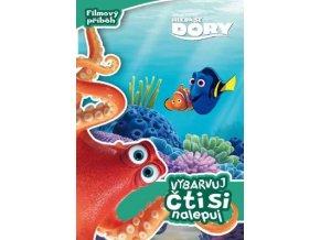 Hledá se Dory - Filmový příběh - Vybarvuj, čti si a nalepuj
