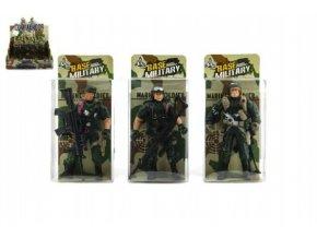 Voják figurka plast 10cm asst v krabičce (1 ks)