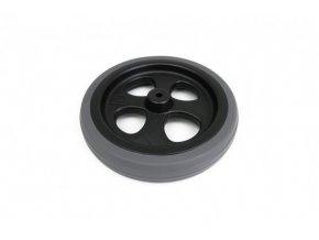 ND FUNNY WHEELS kolo + 2 podložky s šedou gumovou pneumatikou