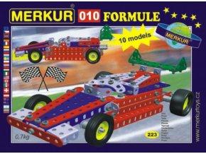 Stavebnice MERKUR 010 Formule 10 modelů 223ks
