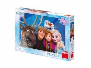 Puzzle Ledové království / Frozen Selfie 24 dílků 26x18cm
