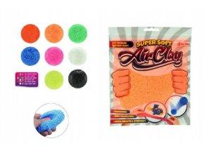 Magická hmota modelína plastelína 50g kuličková plast asst mix barev v sáčku 16x20,5x0,5cm