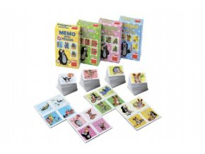 Minipexeso Krtek 6,5x9cm společenská hra v papírové krabičce (1 ks) skladem