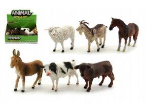 Zvířátka domácí farma plast 12cm asst (1 ks)