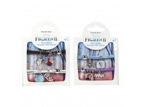 Náramek s přívěsky Frozen 2 2 ks