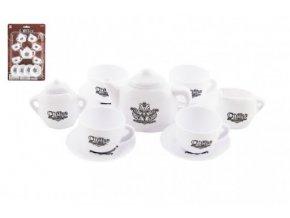 Nádobí - kávová a čajová sada plast 15ks