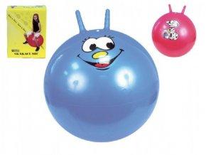 Skákací míč 60cm mix z 4 barvy v krabici