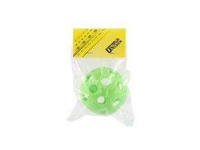 Floorball míč plast průměr 7cm mix z 2 barvy v sáčku