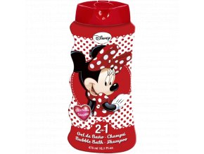 mickey mouse minnie 2v1 sampon a pena do koupele 475 ml