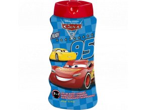 cars 3 2v1 sampon a pena do koupele 475 ml