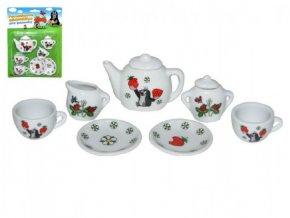 Nádobí - čajový set Krtek porcelán