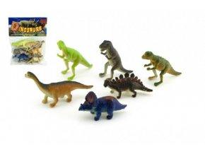Dinosaurus plast 6ks