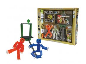 stikbot sada 2 figurky a stativ