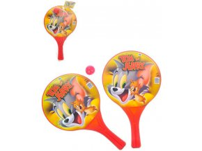 palky na plazovy tenis tom a jerry set 2ks s mickem