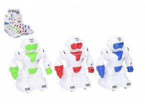 Robot na setrvačník 12 cm plast 3 barvy (1 ks)
