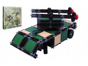 Stavebnice Seva Army 1 plast 514ks v krabici 35x33cm