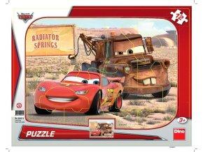 puzzle 12 dilku tvary cars blesk a burak