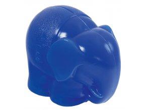 Slon kasička modrá