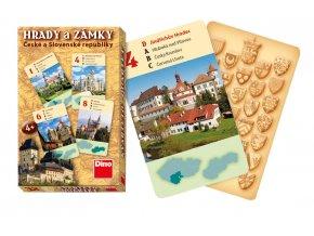 Karty kvarteto - hrady