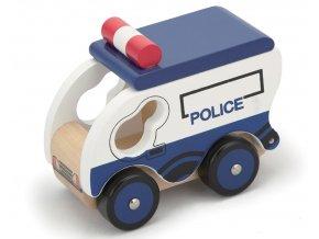 Policejní vůz dřevěný