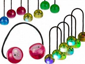 Antistresové míčky svítící