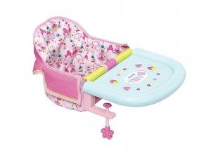 BABY born® Jídelní židlička s uchycením na stůl