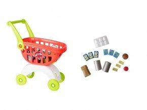 Smart nákupní vozík s doplňky