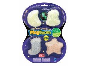 PlayFoam® Boule 4pack svítící