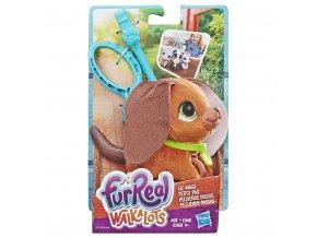 Hasbro Fur Real Friends Walkalots malý pes