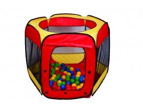 Hrací stan s míčky