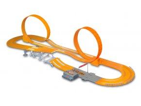 Závodní dráha Hot Wheels Zero Gravity 760 cm s adaptérem