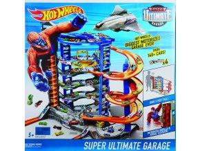 Hot Wheels City supergaráž