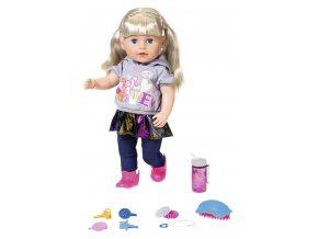 Starší sestřička Baby Born Soft Touch blondýnka 43 cm