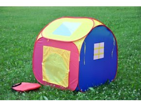 Stan/domeček 90x90x100cm samorozkládací  polyester/kov