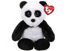 Beanie Boos plyšová panda sedící 20 cm