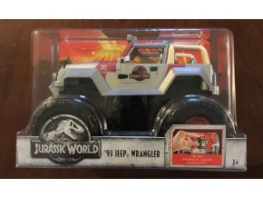 Jeep Wrangler Jurský svět 1:24