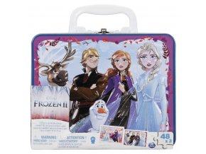 Ledové království 2 puzzle v plechovém kufříku