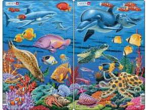 Puzzle Mořský život 25 dílků