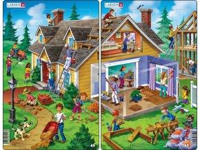 Puzzle Dům 30 dílků