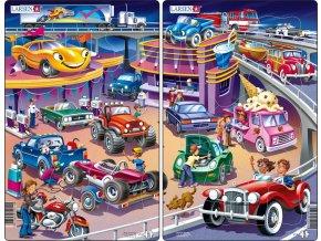 Puzzle Auta - cars 15 dílků