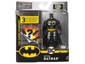 Batman figurka hrdiny s doplňky 10 cm solid