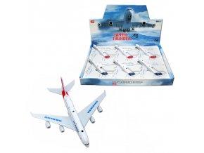Kovový model - Civilní letadlo 15cm