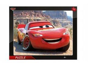 Puzzle deskové Cars Blesk McQueen 40 dílků