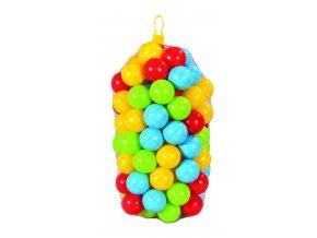 Plastové míčky 7cm - 100 ks