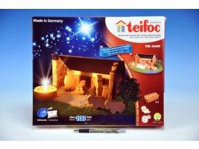 Stavebnice Teifoc Betlém 100ks v krabici 35x29x4,5cm